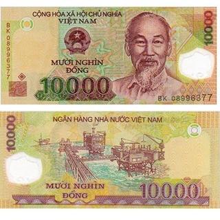 10.000 DONG-MUOI NGHIN DONG VIETNAM BANKNOTE POLER