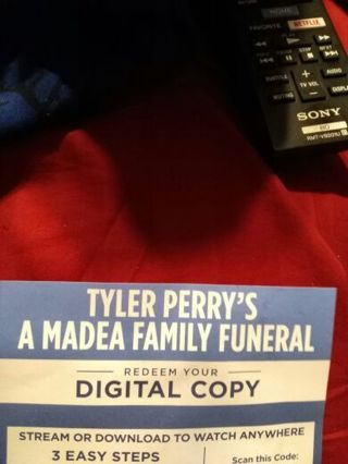 Digital copy of Tyler Perry's a Madea Family funeral