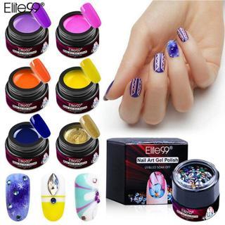 Elite99 5ml Painting Gel Polish Gel Liner With Bling Diamond Nail Art Decoration DIY Manicure Vern