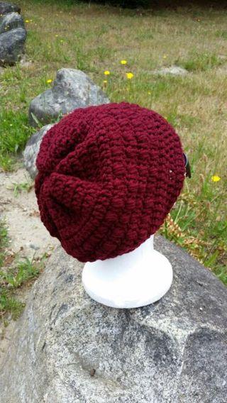 Free Bottom Up Crochet Puff Stitch Hat Pattern Only Crochet