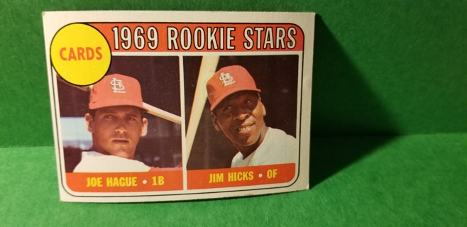 1969 - TOPPS EXMT - NRMT BASEBALL - CARD NO. 559 - CARDINAL ROOKIE STARS