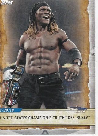 2020 WWE Topps R-Truth/Mystery Card
