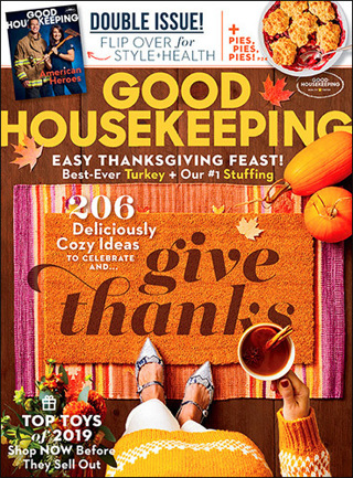 Even Lower GIN! GOOD HOUSEKEEPING Magazine TWO Year (24 issues) Subscription