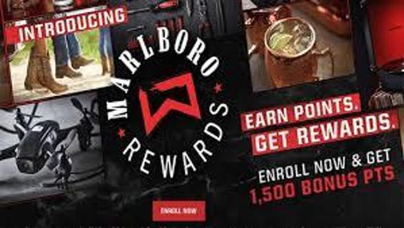 3 Marlboro Rewards Codes