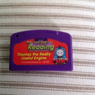 Leap Start pre reading cartridge  for gaming system, small