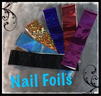 ★ღღNail Art ★ღღFoil Wraps ★ღღTransfer Adhesive Glitters ★ღღDIY Decoration
