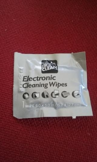 Electronic Wipe