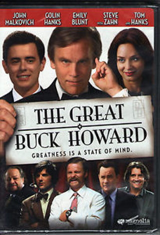 DVD THE GREAT BUCK HOWARD (JOHN MALKOVICH) NEW RATED PG