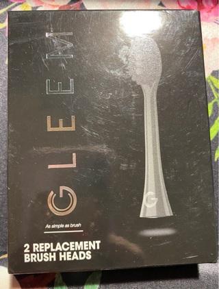 2 Replacement Brush Heads NIB