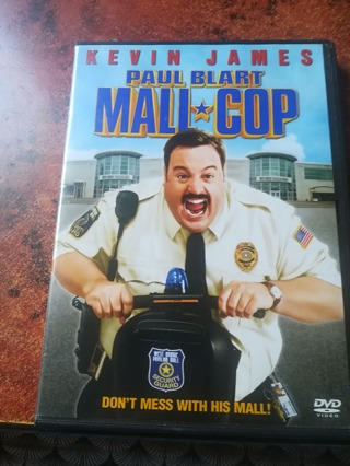 DVD Paul Blart Mall Cop Kevin James
