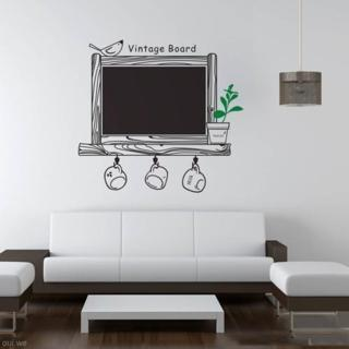 Home Room Removable Blackboard Chalkboard Wall Sticker Bedroom Decor Mural Decal