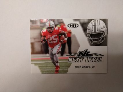 Mike Weber jr rookie