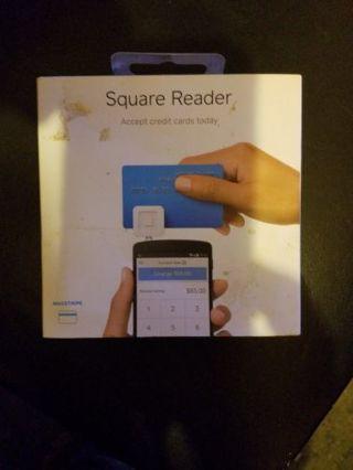 Square Reader for credit cards