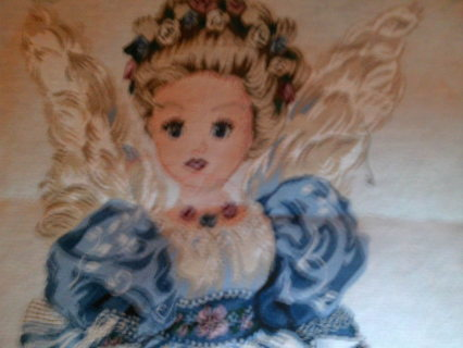 Angel Tapestry Pillow Panel