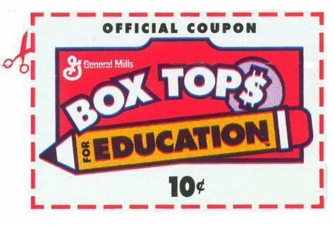 5 Bonus Box Tops for Education #2 (Instant Code)