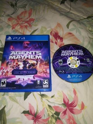 PS4 AGENTS OF MAYHEM...VERY GOOD CONDITION...NO SCRATCHES...FREE SHIPPING WITH TRACKING...