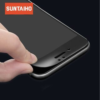 Suntaiho Tempered Glass For iPhone XR XsMax 6 6s Soft 3D Curved Full Cover Protective Toughened
