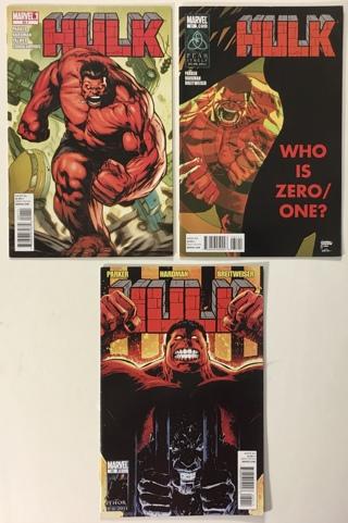 Hulk #s 30.1, 31, 32 Red Hulk 2011 VF- to VF+ WP Marvel Comic Books Lot of 3
