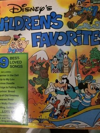 Disney's Children's Favorites record