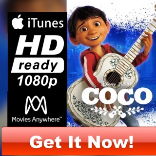 COCO HD ITUNES CODE ONLY