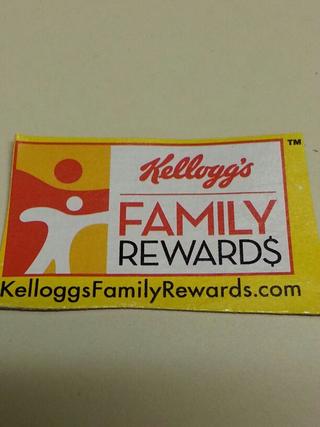 Four Kelloggs Family Rewards codes