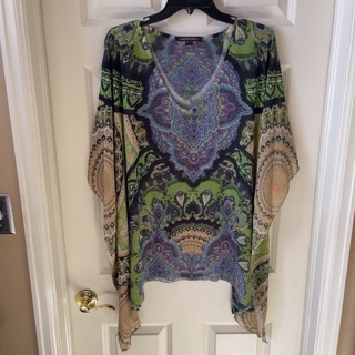 Sienna rose blouse for women size 1X / Shipping is $3.50