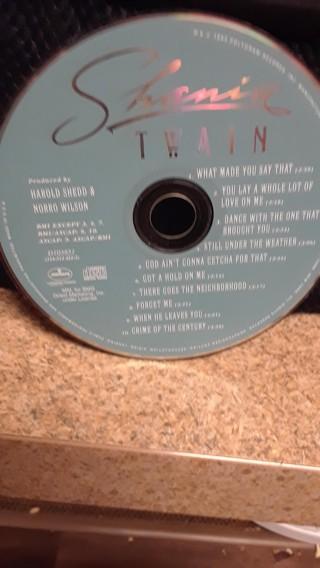 SHANIA TWAIN CD    1ST CD