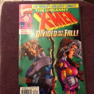 Uncanny X-men #348