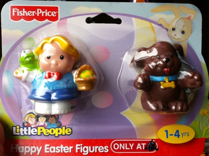 Brand New Fisher Price Little People and Puppy