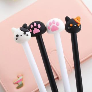 C Animal Shape Gel Pen DIY Office Stationery and School Supplies Smooth Writing Black and Blue Ink