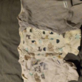 3 baby boy onesie newborn