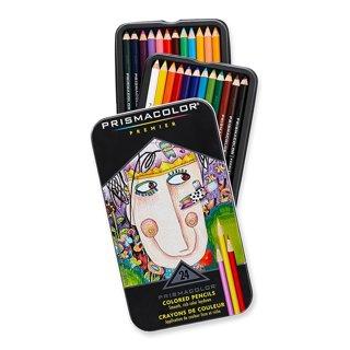 1 NEW Prismacolor 3597T Premier Colored Pencils, Soft Core, 24-Count FREE SHIPPING