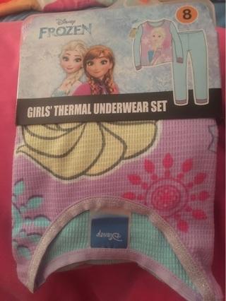 Disneys Frozen Thermal Underwear Set