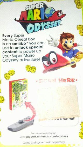 Free: *SUPER MARIO ODYSSEY AMIIBO CODE* - Video Game Prepaid Cards