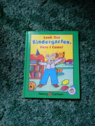 New Book Look Out Kindergarten Here I Come!