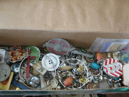 1/4 pound / 4oz lot of cool Findings