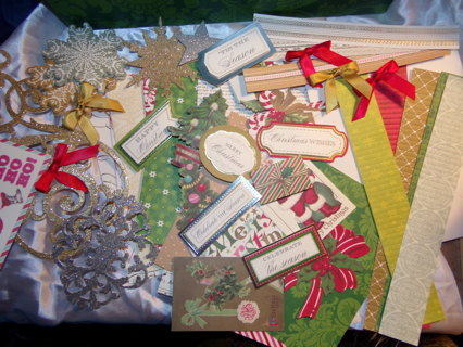 Anna Griffin Christmas Cards.Free Christmas Card Making Kit 56 Pieces By Anna Griffin