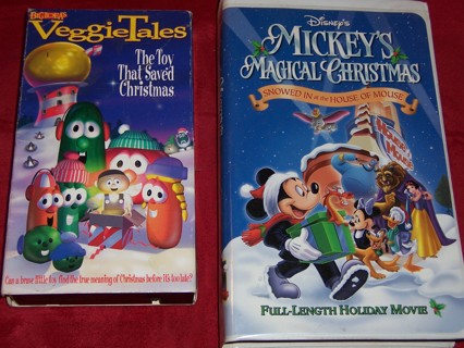 disneys mickeys magical christmas veggie tales the toy that - Mickeys Magical Christmas