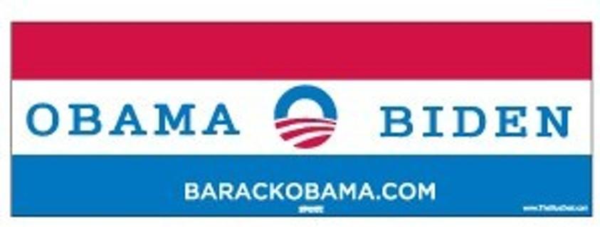 Official 2016 Obama Biden bumper sticker