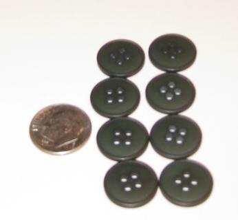8  green buttons