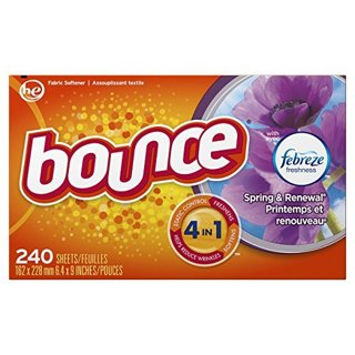 ❣~ Bounce Fabric Softener and Dryer Sheets, Spring & Renewal, 240 Count ~❣