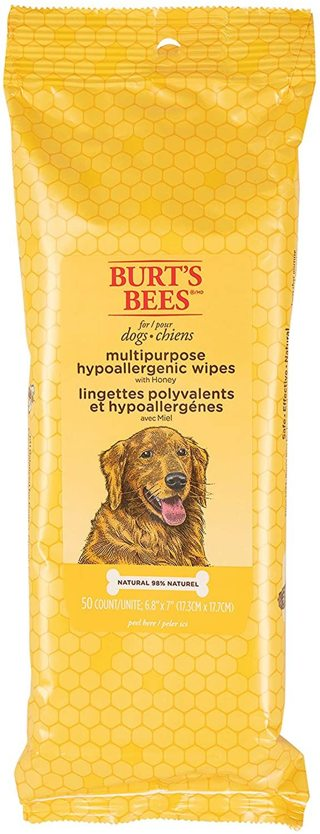 Burt's Bees Honey Grooming Dog Wipes