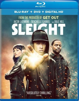 2017 Sleight Blu-ray/DVD + Digital (Read) Movie-Rated R-New & Sealed