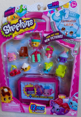 FREE Shopkins Season 4 With Petkins 12 Pack Look Ultra Rare Limited Edition NEW
