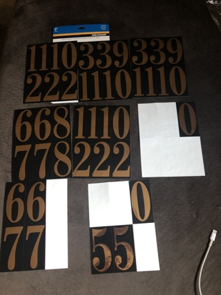 """Mailbox Numbers 3"""""""
