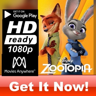 ZOOTOPIA HD GOOGLE PLAY CODE ONLY