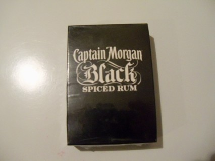 Captain Morgan Black Spiced Run playing cards