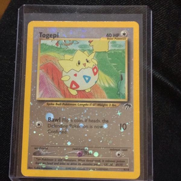Free: Togepi Holo Southern Island Pokemon Card. RARE MINT