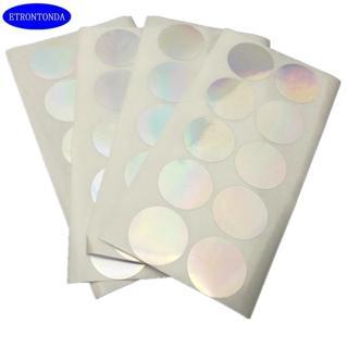 "100pcs Laser Sealing Sticker 1""  Round 25mm Security Seal Tamper Proof Warranty Void Label Sticker"