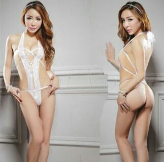 Sexy Lingerie Nightwear Underwear Sleepwear Women Lady Dress Lace Jumpsuits